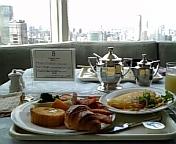 赤坂プリンス40<br />  階で朝食