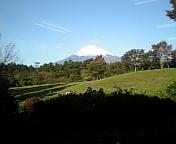 富士山見えた〜