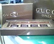 GUCCIのチョコレート